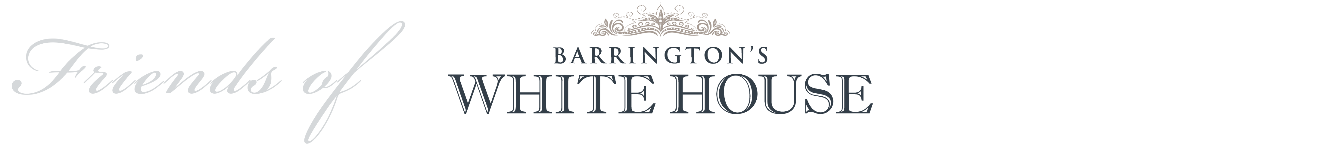 Friends of Barrington's White House Logo