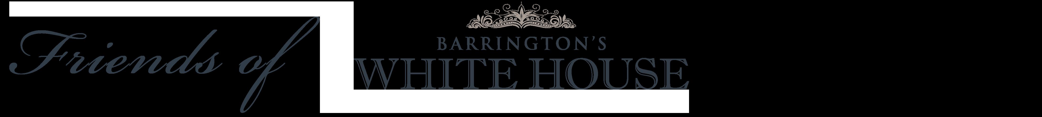 Friends of Barrington's White House Logo